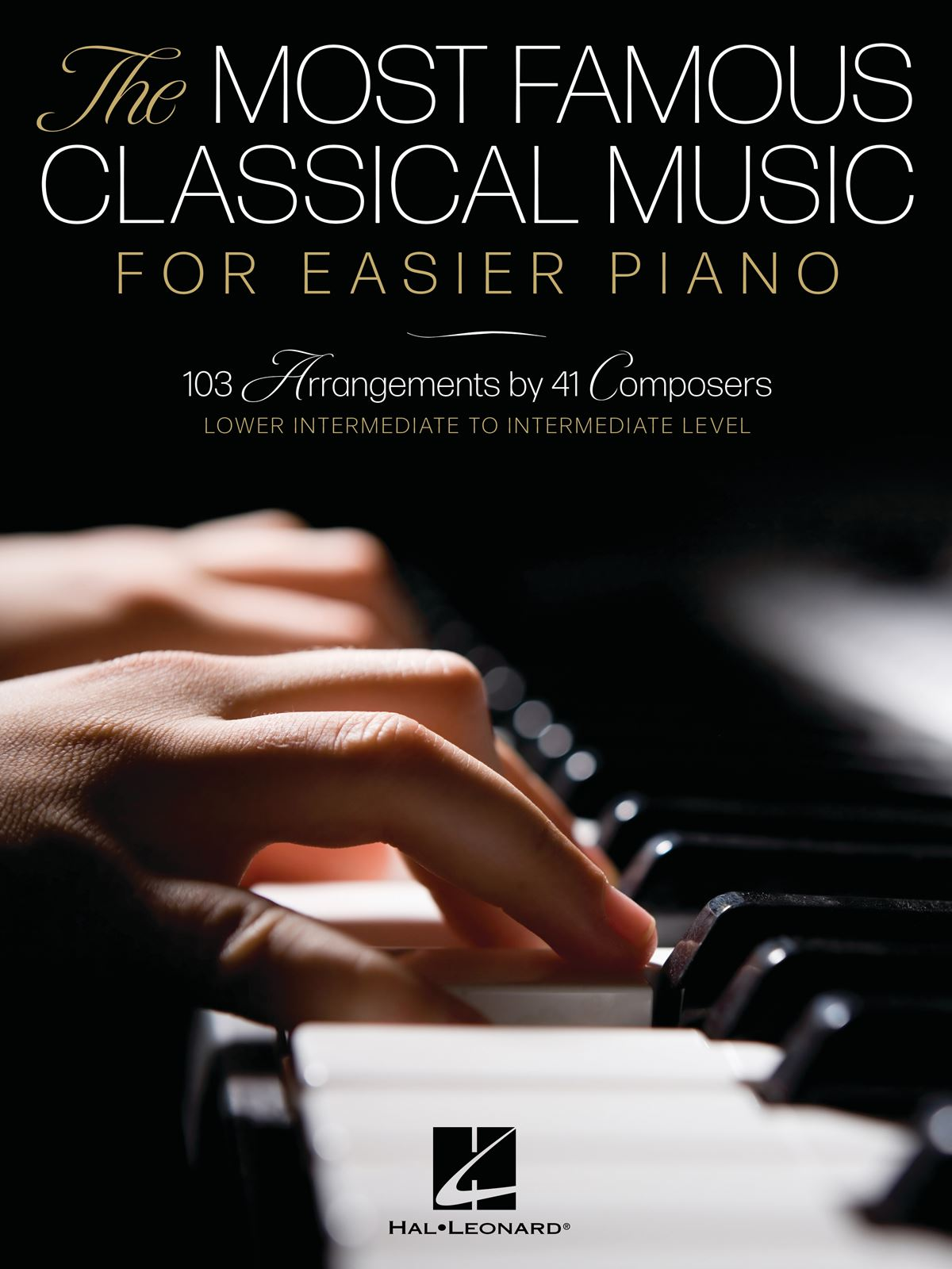 The Most Famous Classical Music for Easier Piano: Piano Solo: Instrumental Album
