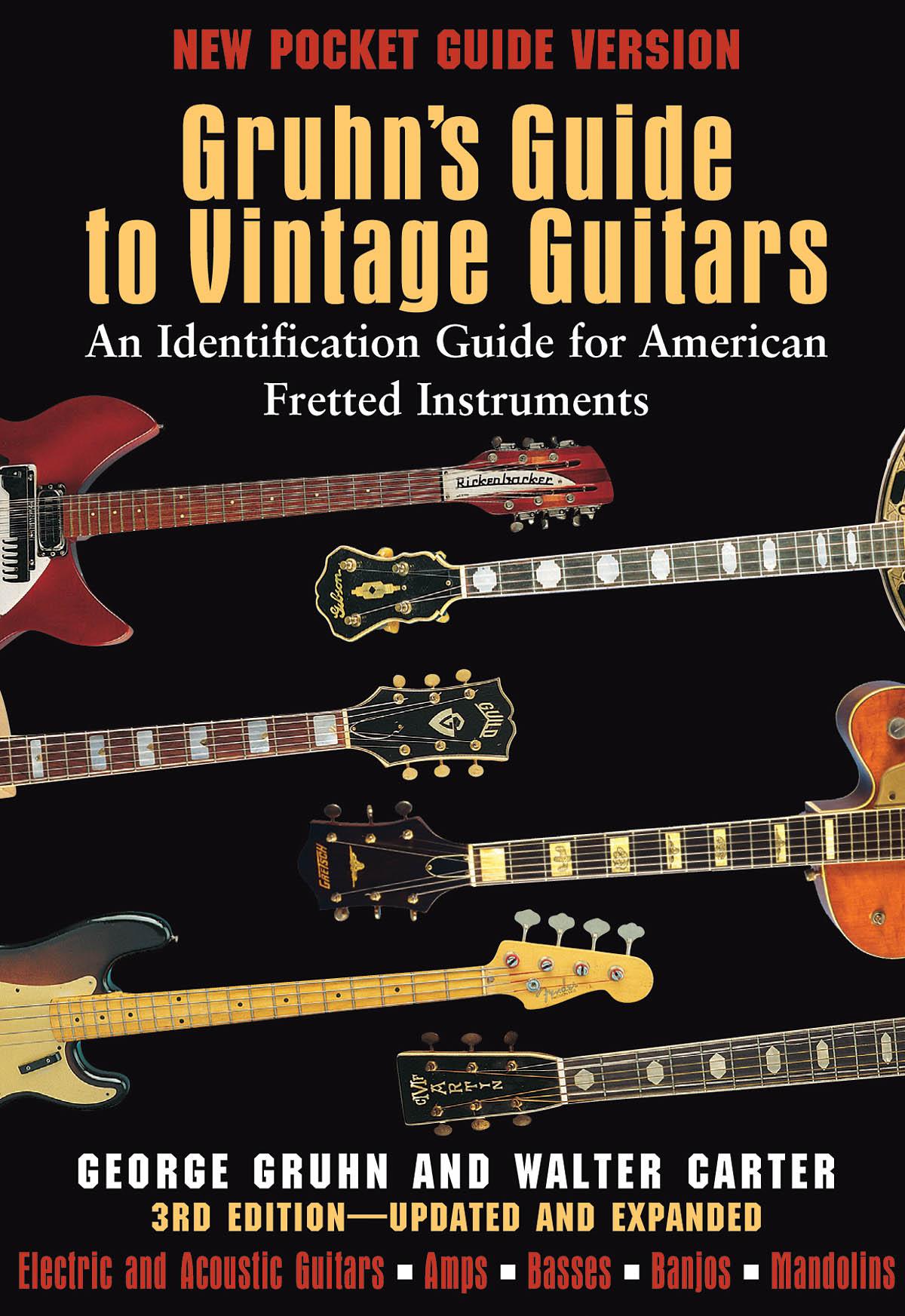 Gruhn's Guide To Vintage Guitars - (pocket): Reference Books: Instrumental