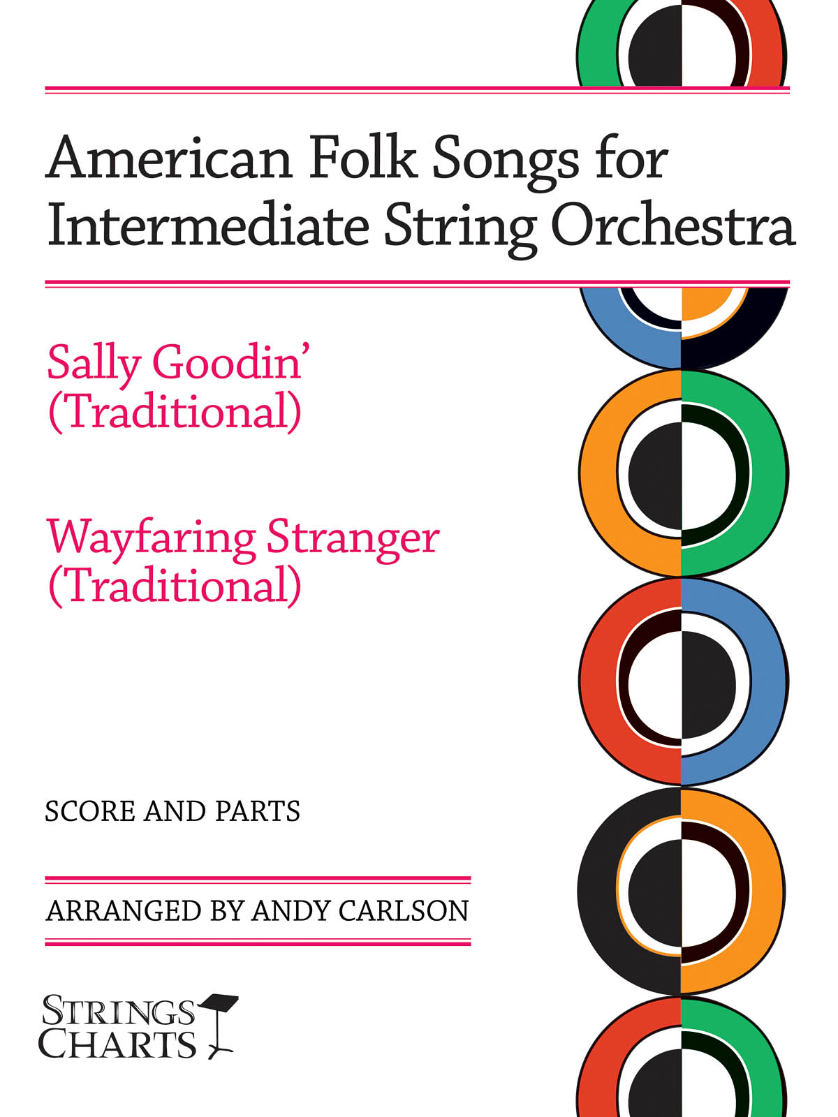 American Folk Songs For Beginning String Orch.: Orchestra: Score & Parts