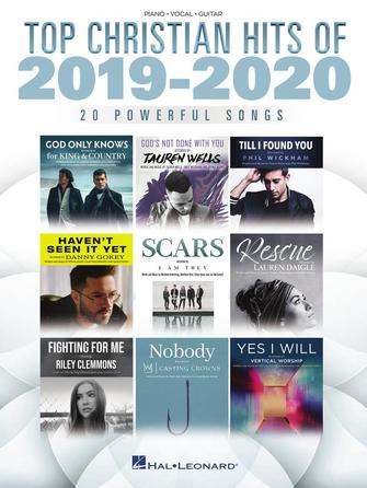 Top Christian Hits of 2019-2020: Piano  Vocal and Guitar: Mixed Songbook