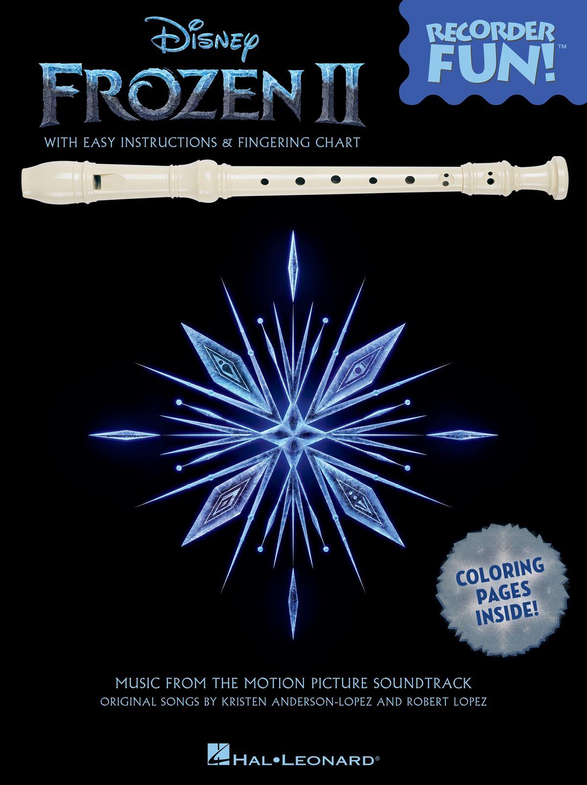 Kristen Anderson-Lopez Robert Lopez: Frozen 2 - Recorder Fun!: Recorder: Album