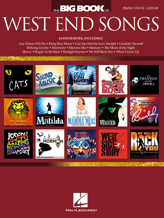 Elise Ecklund: The Big Book of West End Songs: Piano  Vocal and Guitar: Mixed