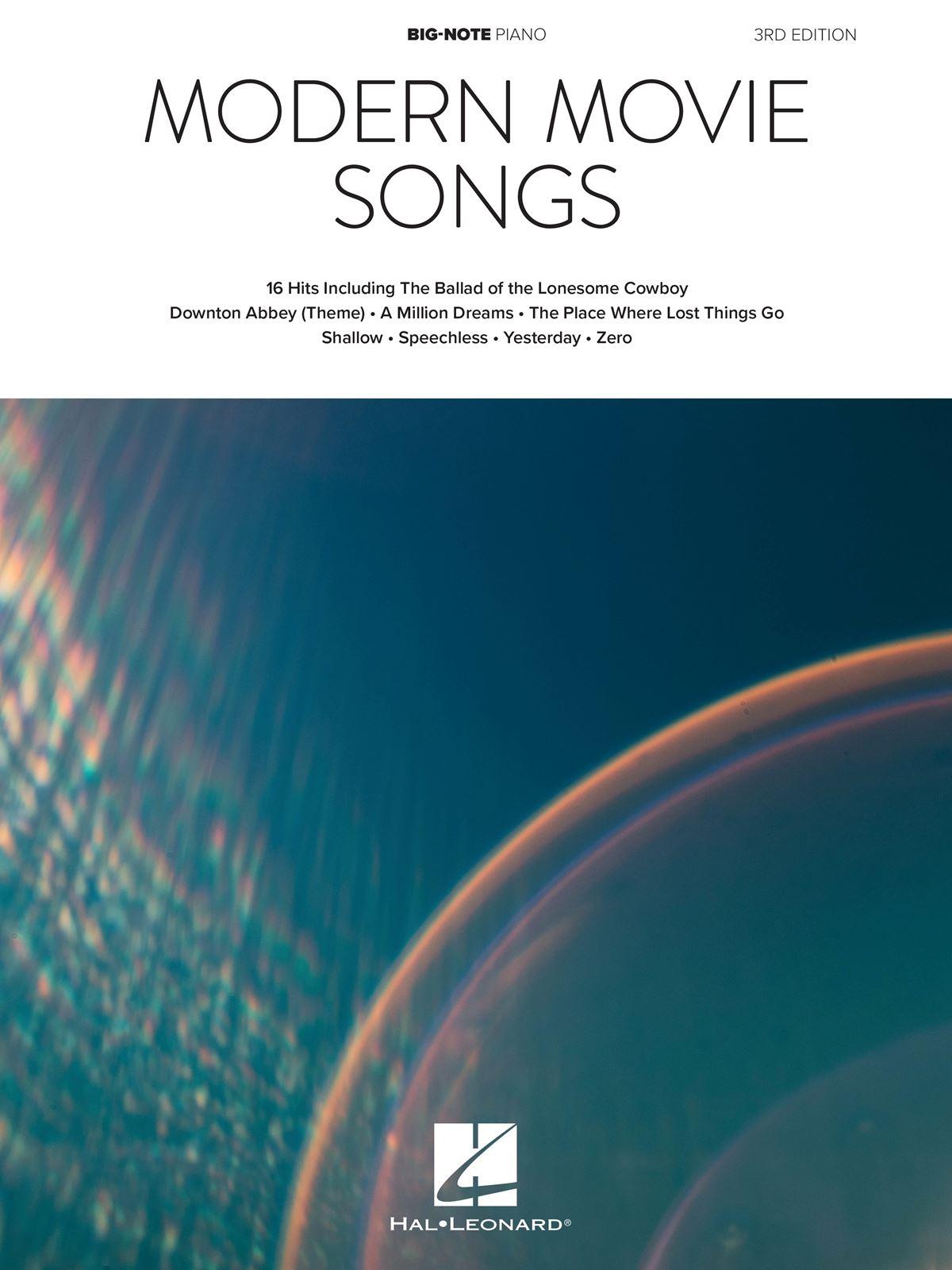 Modern Movie Songs - 3rd Edition: Piano: Instrumental Album