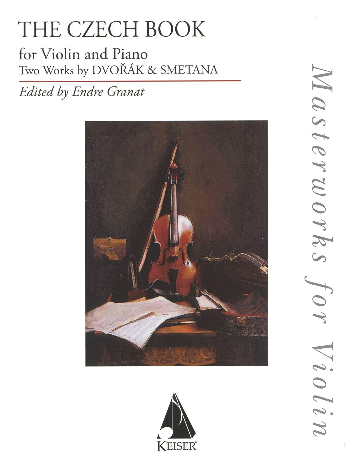 Bedrich Smetana Antonin Dvorak: The Czech Book: Violin Solo: Instrumental Album