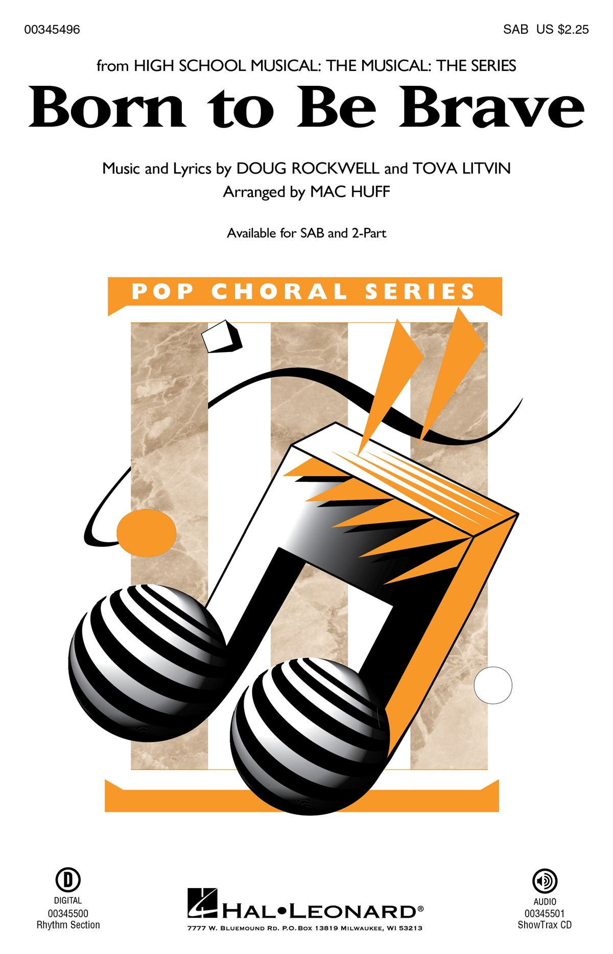 Born to Be Brave: Mixed Choir a Cappella: Vocal Score