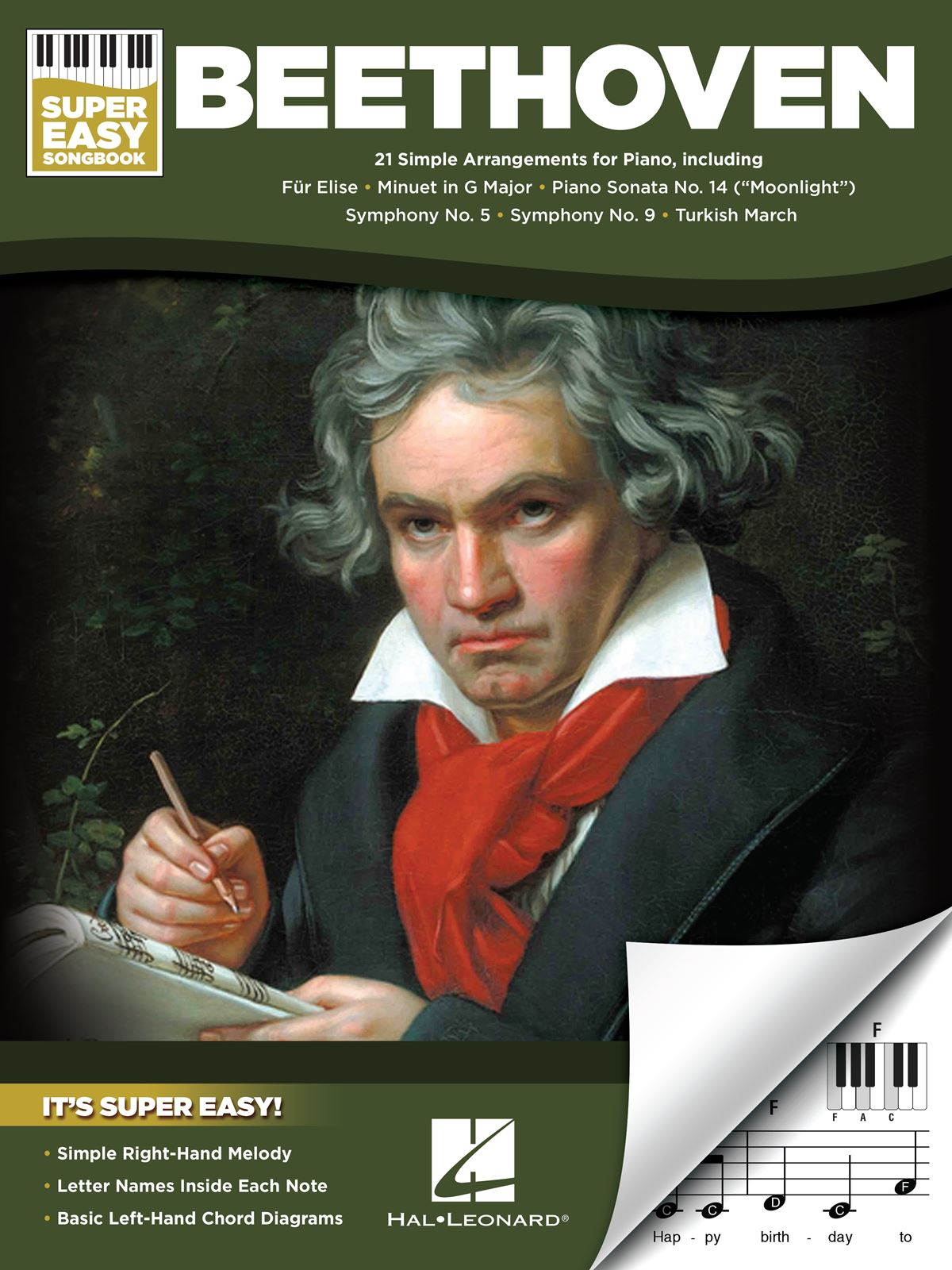 Ludwig van Beethoven: Beethoven - Super Easy Songbook: Piano: Instrumental