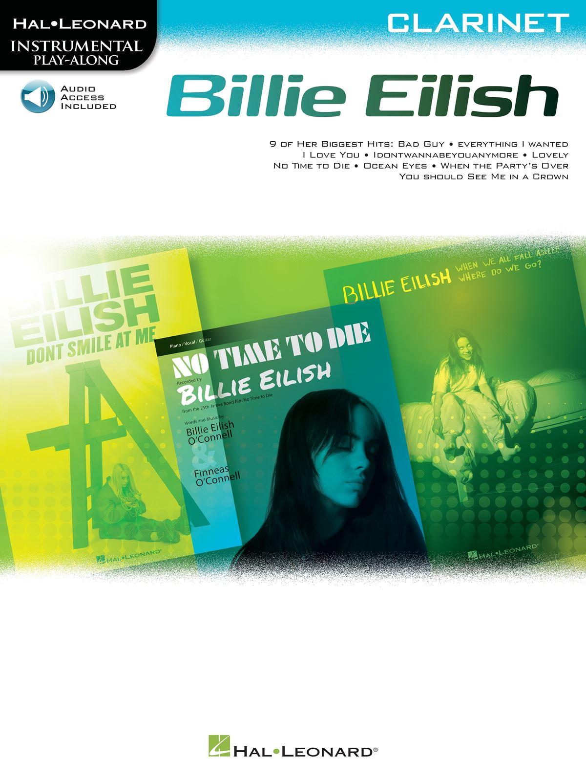 Billie Eilish: Billie Eilish For Clarinet: Clarinet Solo: Instrumental