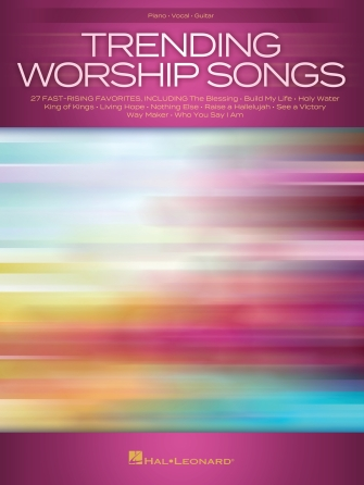Trending Worship Songs: Piano  Vocal and Guitar: Mixed Songbook