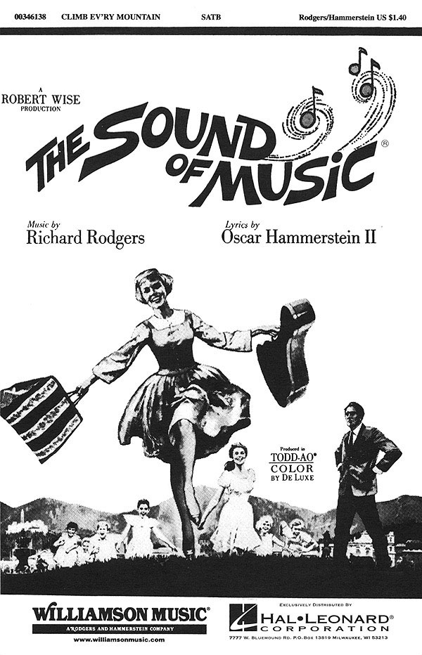 Oscar Hammerstein II Richard Rodgers: Climb Ev'ry Mountain: Mixed Choir a