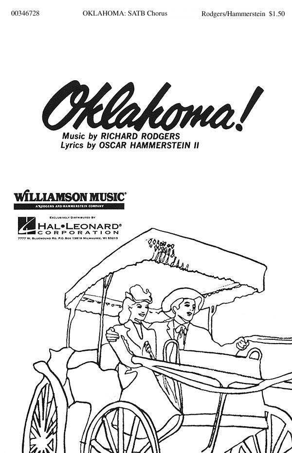Oscar Hammerstein II Richard Rodgers: Oklahoma: Mixed Choir a Cappella: Vocal