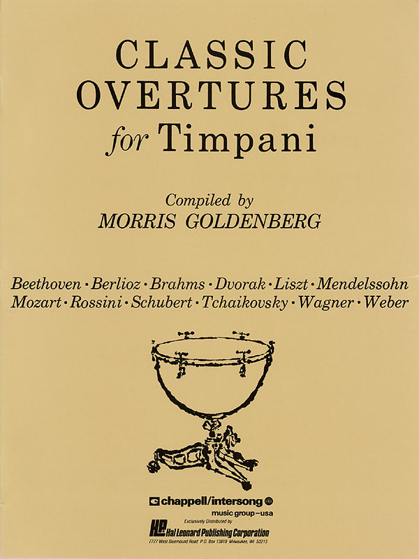 Morris Goldenberg: Classic Overtures for Timpani: Other Percussion: Instrumental