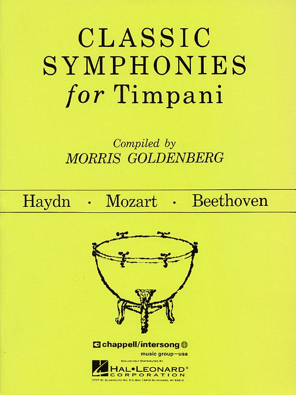 Classic Symphonies For Timpani: Timpani: Instrumental Album