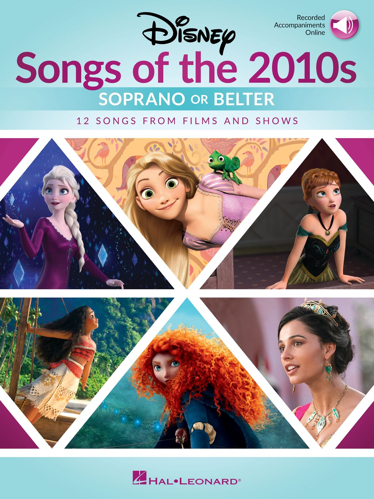 Disney Songs of the 2010s: Soprano or Belter: Vocal and Piano: Vocal Album