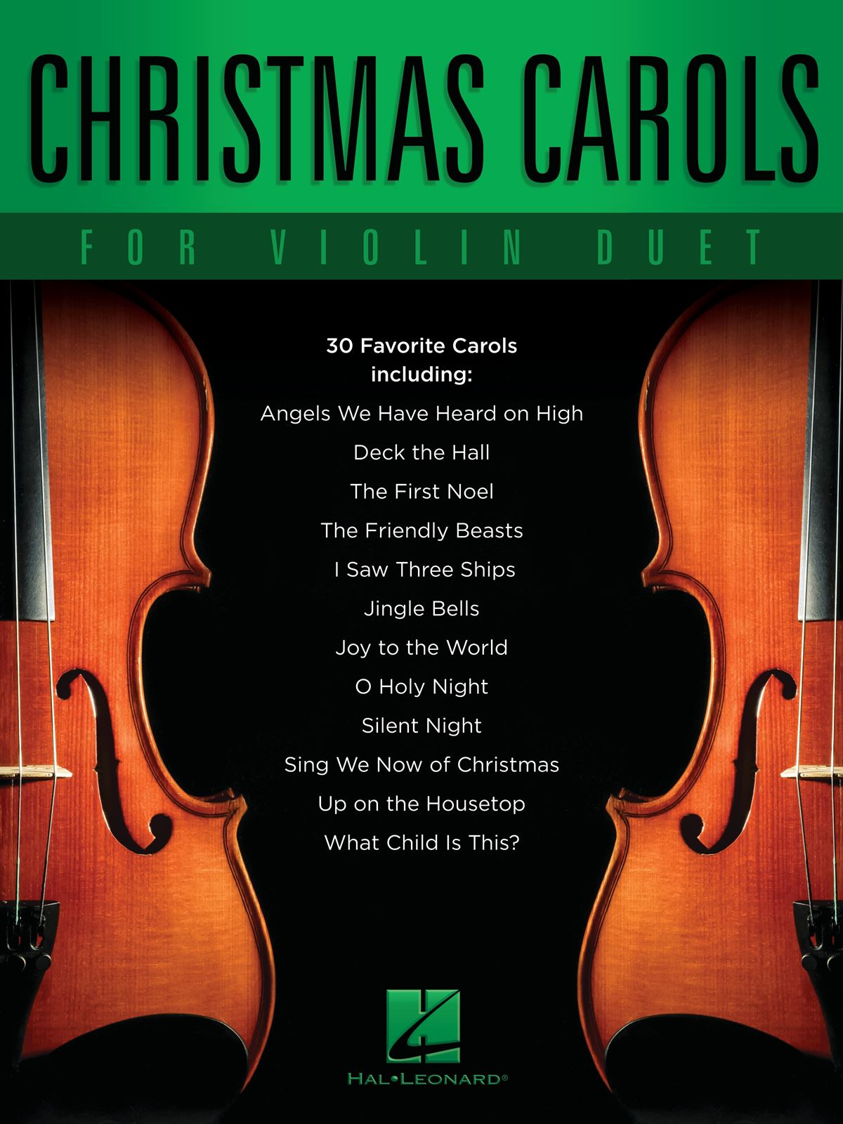 Christmas Carols for Violin Duet: Violin Duet: Instrumental Album