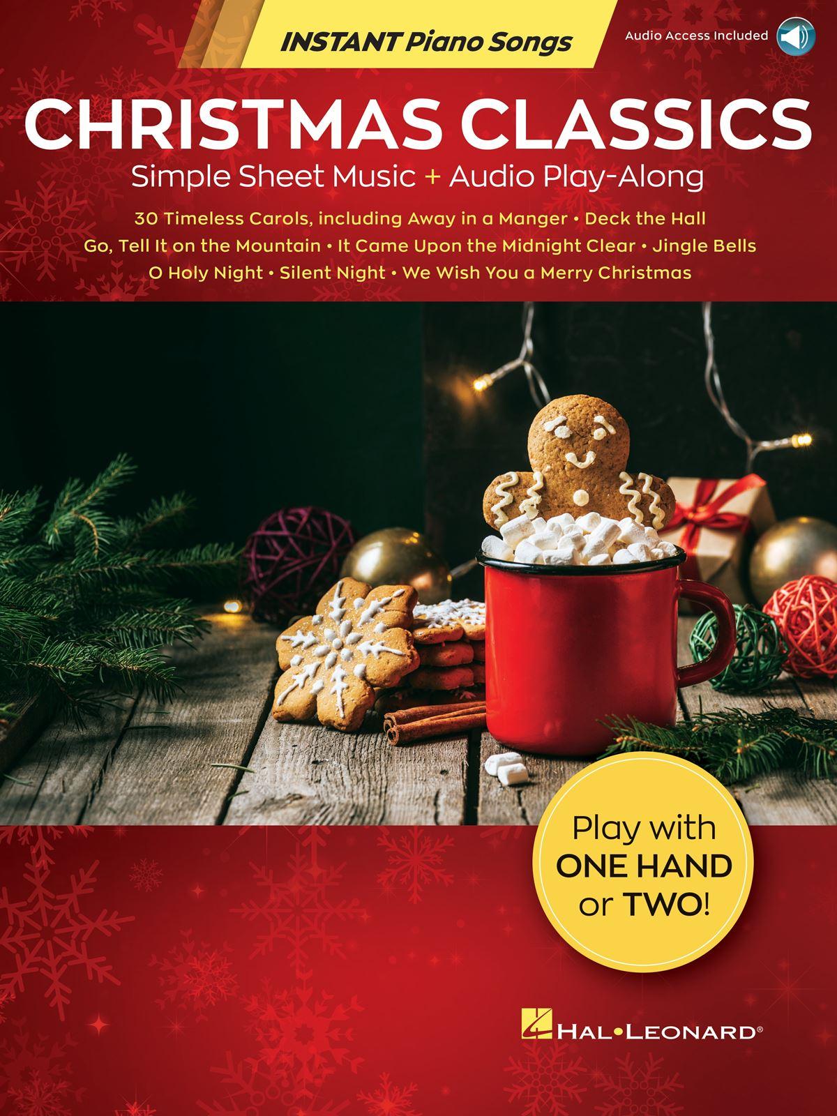 Christmas Classics - Instant Piano Songs: Piano: Instrumental Album