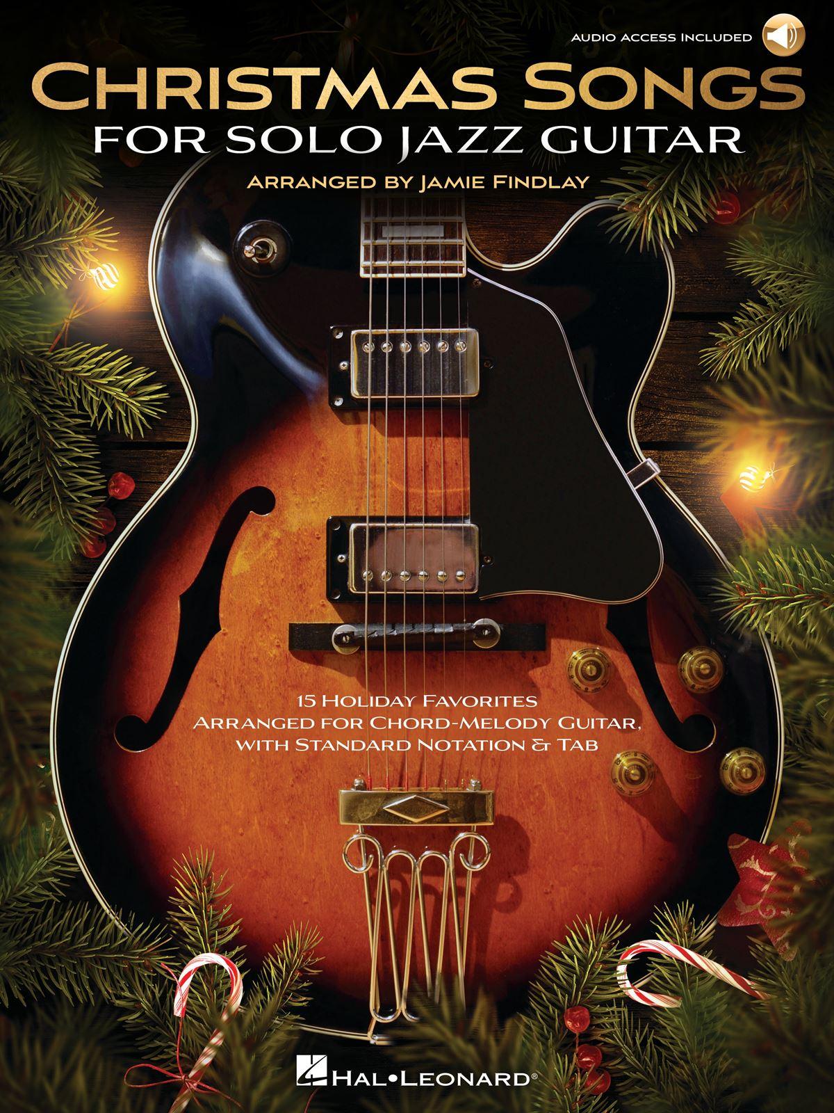Christmas Songs for Solo Jazz Guitar: Guitar Solo: Instrumental Album