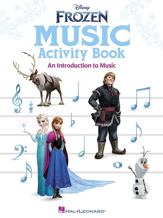 Disney Frozen Music Activity Book: C Instrument: Theory