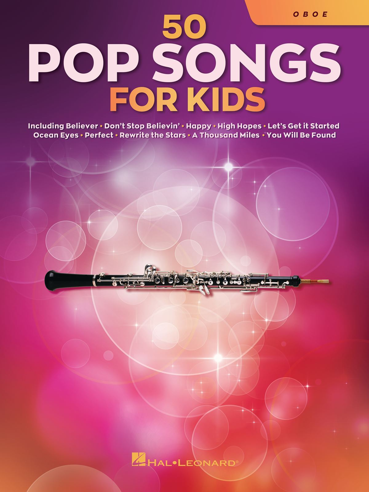 50 Pop Songs for Kids: Oboe Solo: Instrumental Album
