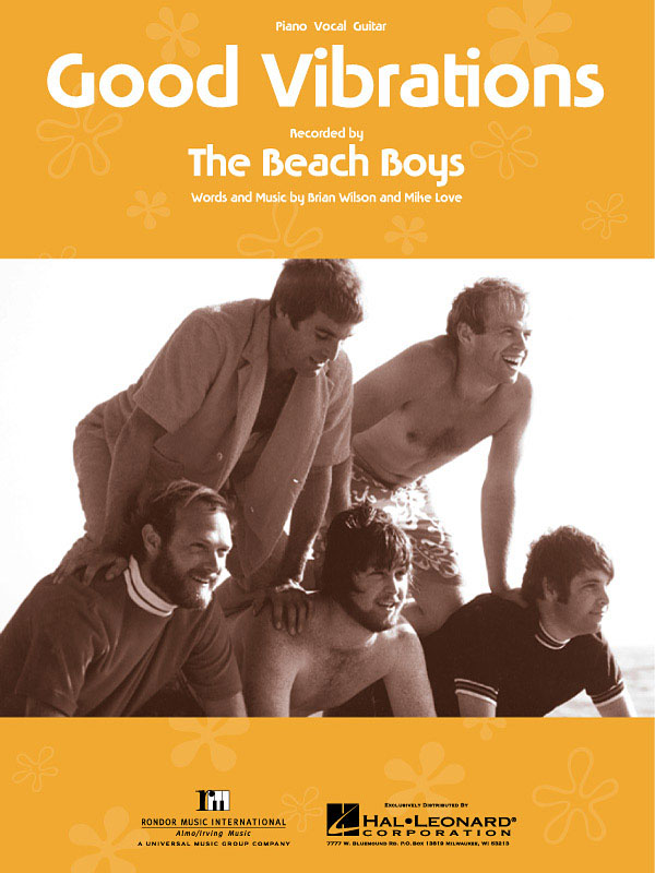 The Beach Boys: Good Vibrations: Vocal and Piano: Single Sheet