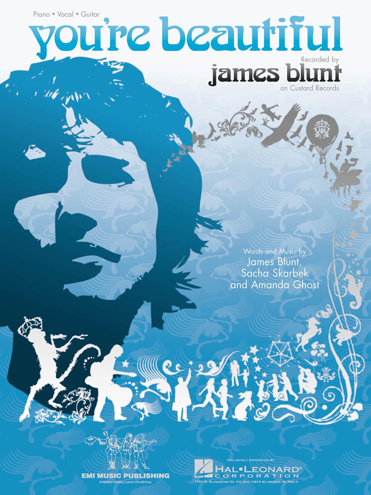 James Blunt: You're Beautiful: Piano  Vocal  Guitar: Full Score