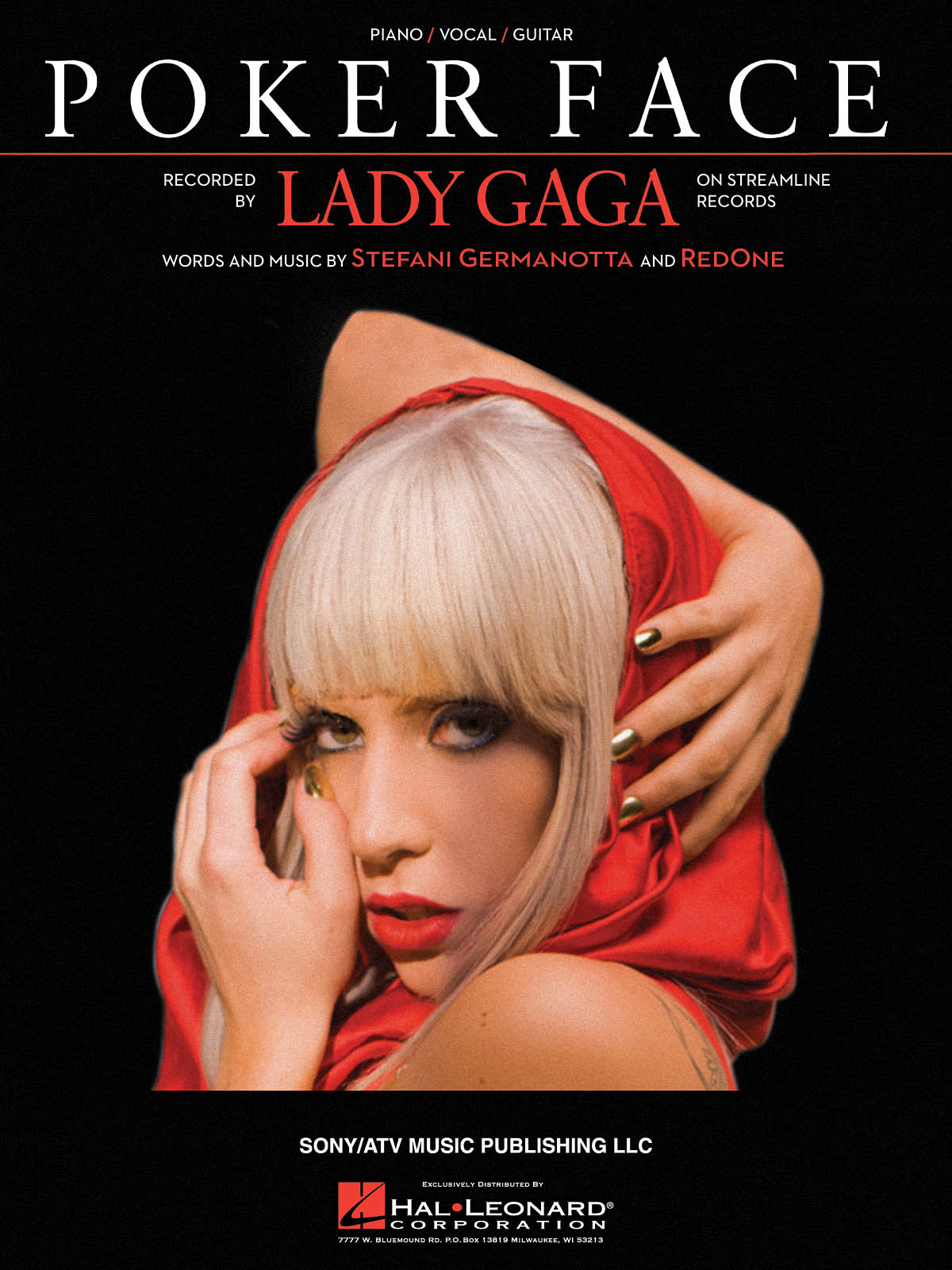 Lady Gaga: Poker Face: Piano  Vocal and Guitar: Mixed Songbook