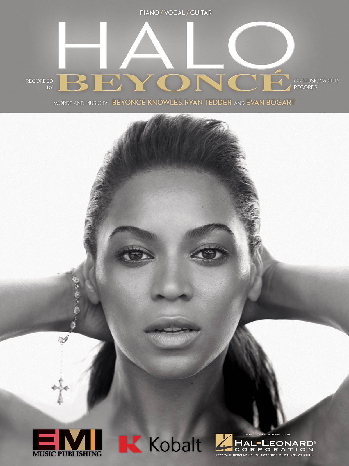 Beyoncé Knowles: Halo: Vocal and Piano: Single Sheet