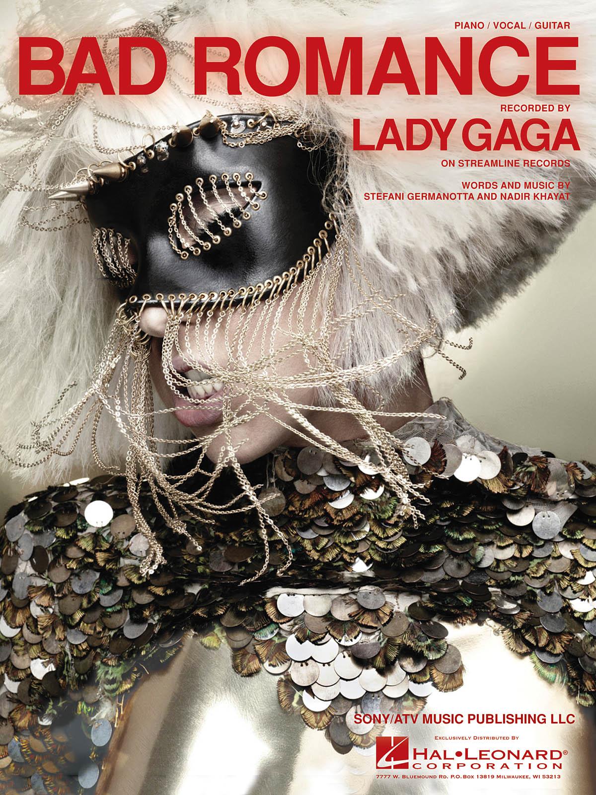 Lady Gaga: Bad Romance: Piano  Vocal and Guitar: Mixed Songbook