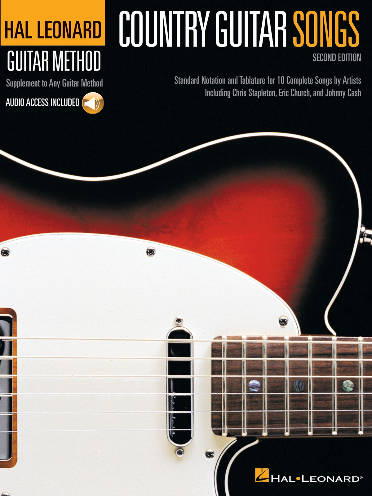 Country Guitar Songs - 2nd Edition: Guitar Solo: Instrumental Tutor