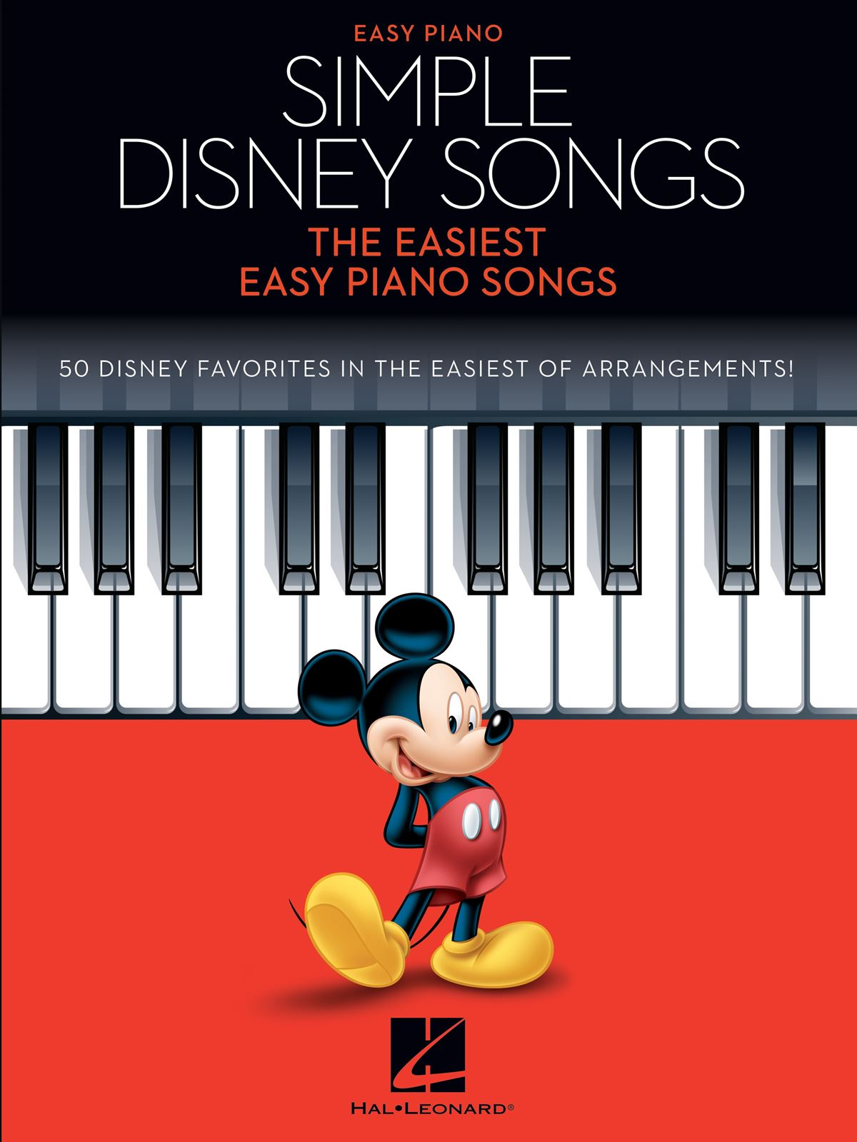 Simple Disney Songs: Easy Piano: Instrumental Album
