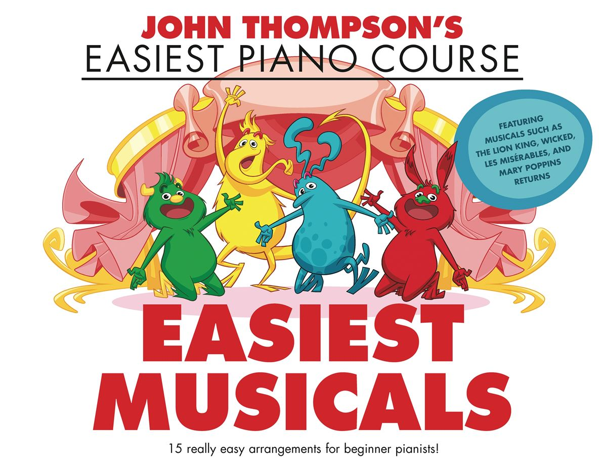 John Thompson's Easiest Musicals: Piano: Instrumental Album
