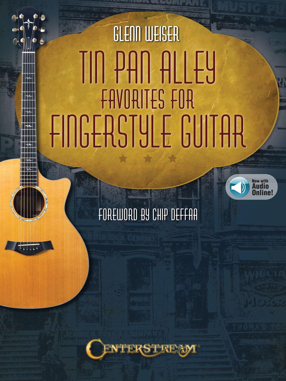 Tin Pan Alley Favorites for Fingerstyle Guitar: Guitar Solo: Instrumental Album