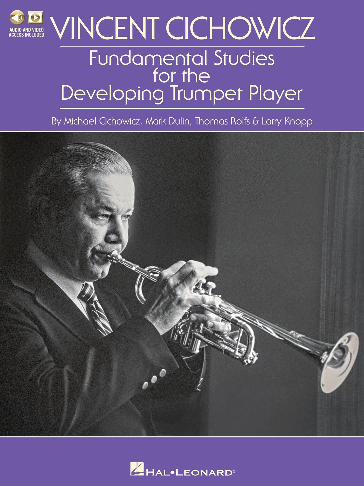 Vincent Cichowicz: Fundamental Studies: Trumpet Solo: Instrumental Tutor
