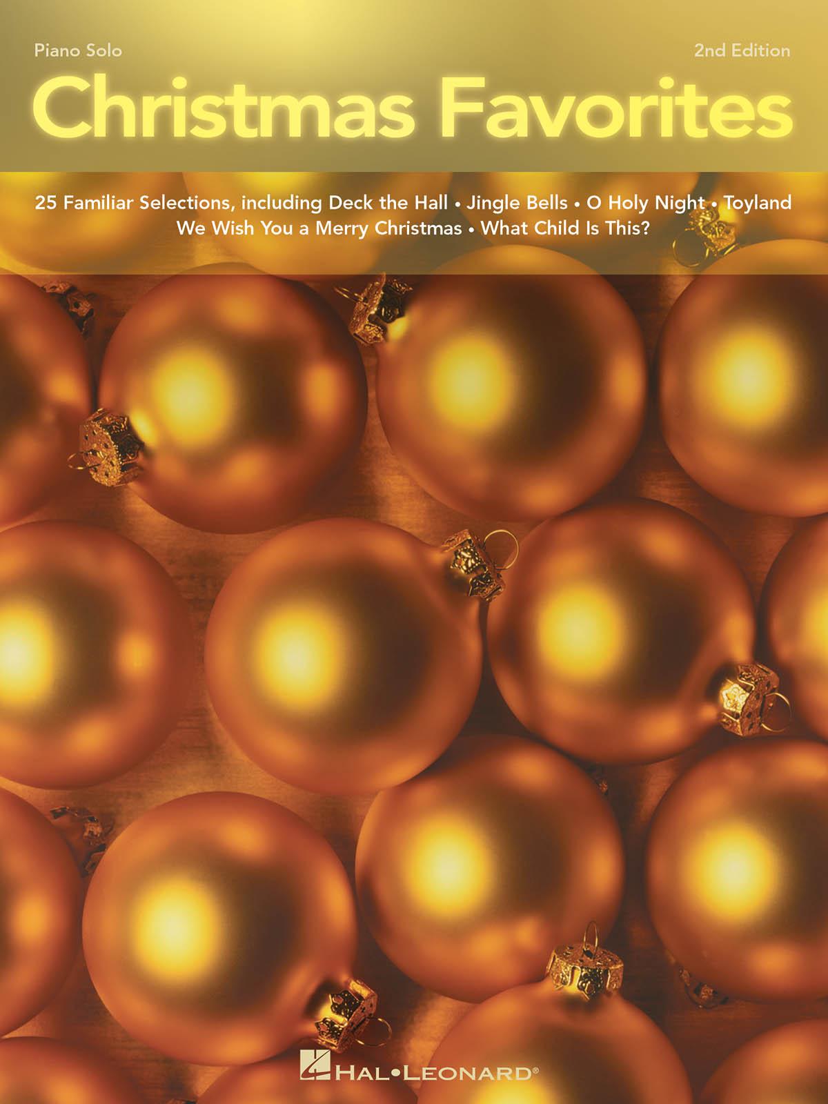 Christmas Favorites (2nd Edition): Piano: Instrumental Album
