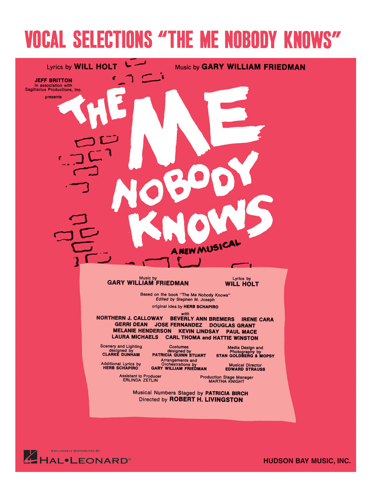 Gary William Friedman: The Me Nobody Knows: Piano  Vocal and Guitar: Mixed