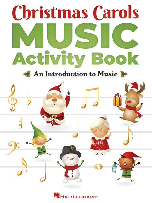 Christmas Carols Music Activity Book: C Instrument: Theory