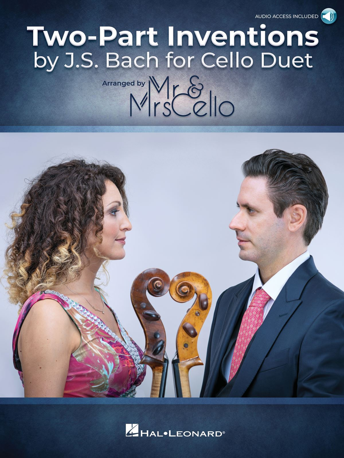 Mr. And Mrs. Cello: Two Part Inventions by J.S. Bach for Cello Duet: Cello Duet: