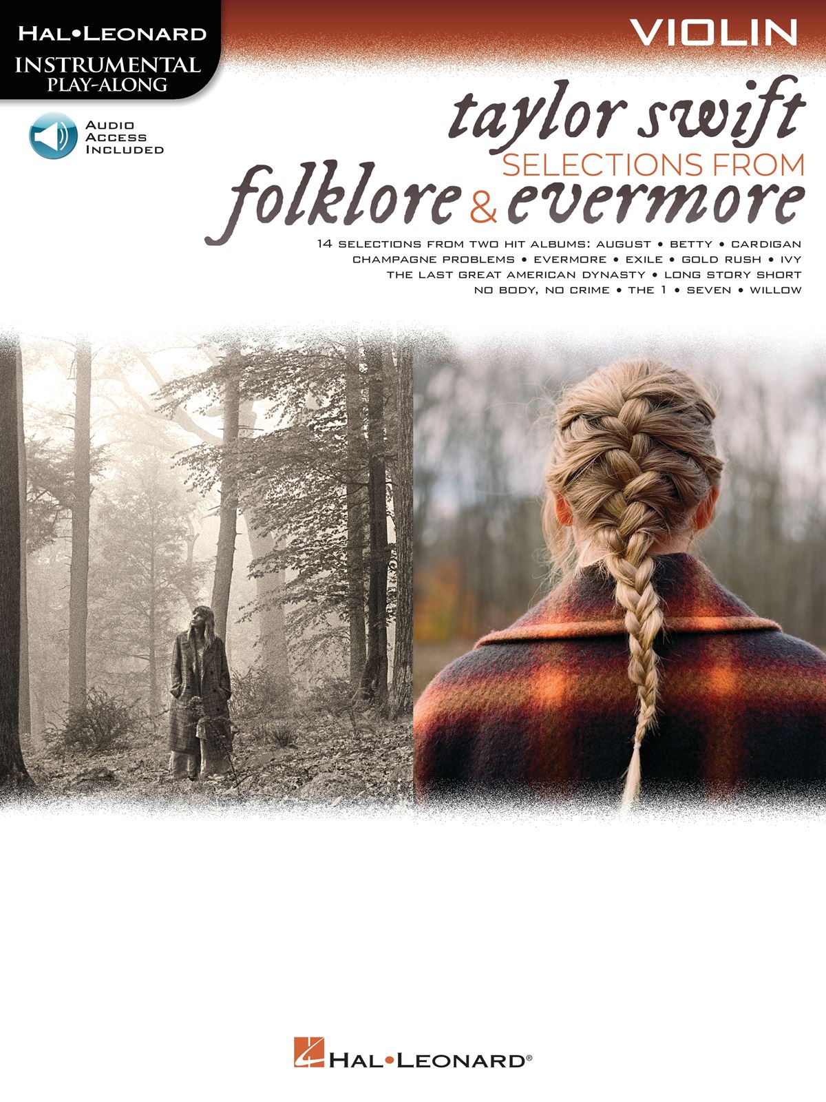 Taylor Swift: Taylor Swift - Selections from Folklore & Evermore: Violin Solo: