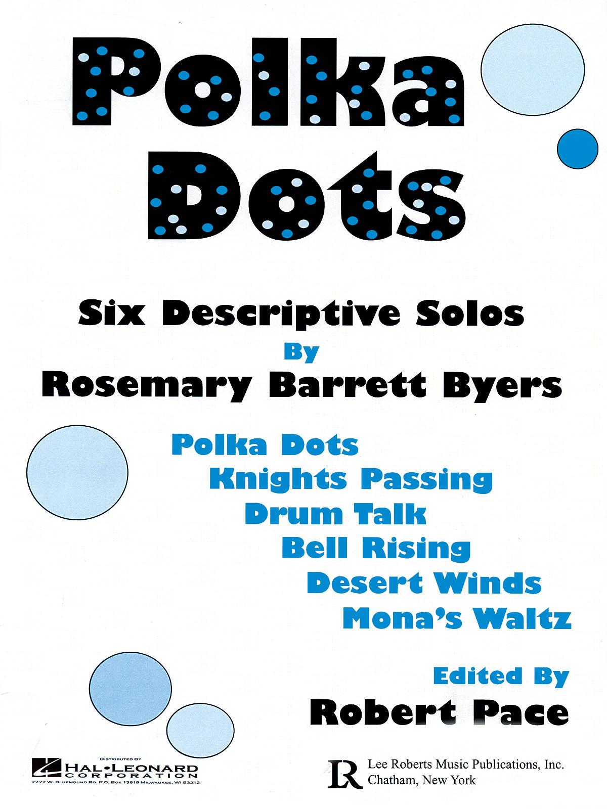 Rosemary Barrett Byers: Polka Dots: Piano: Instrumental Album