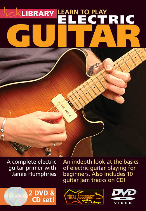 Jamie Humphries: Learn to Play Electric Guitar: Guitar Solo: DVD