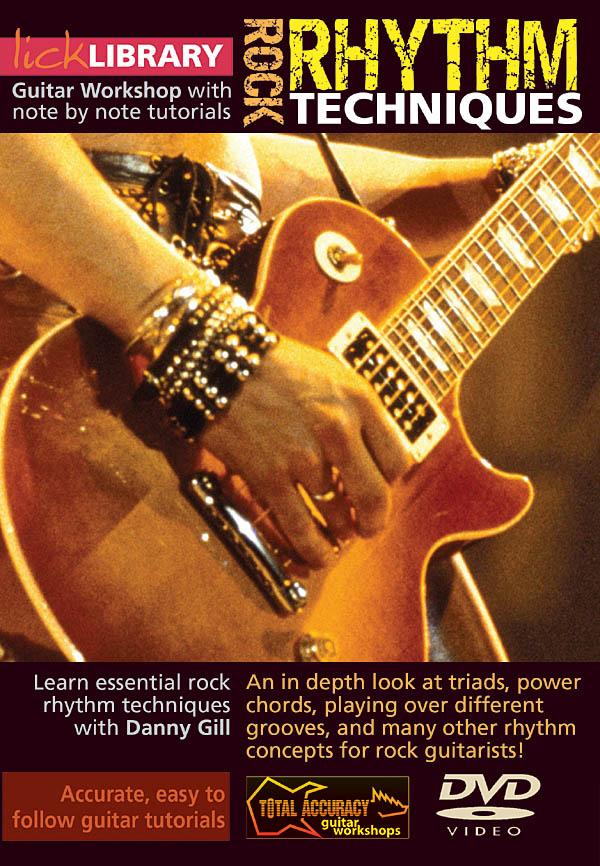 Danny Gill: Rock Rhythm Techniques: Guitar Solo: DVD