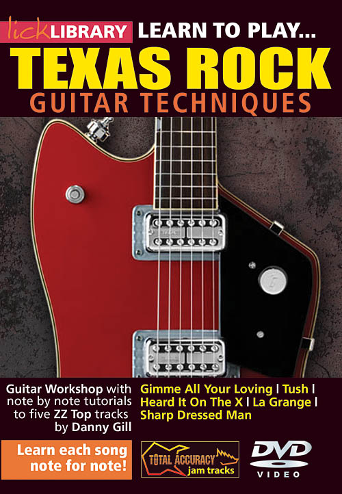 Danny Gill: Learn to Play Texas Rock: Guitar Solo: DVD