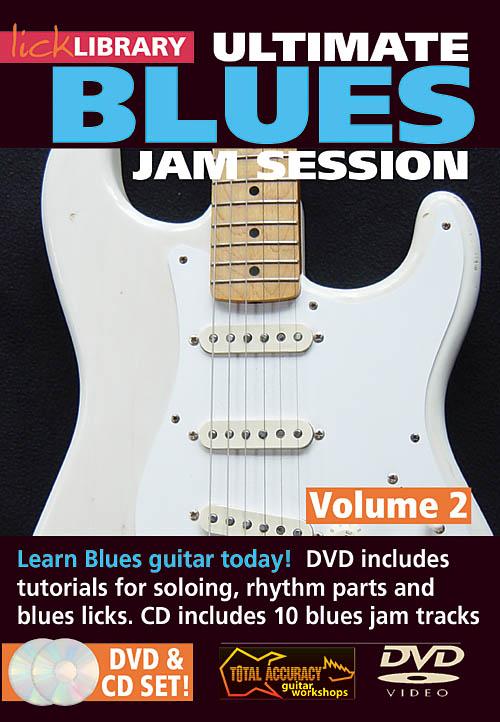 Stuart Bull: Ultimate Blues Jam Session: Guitar Solo: DVD