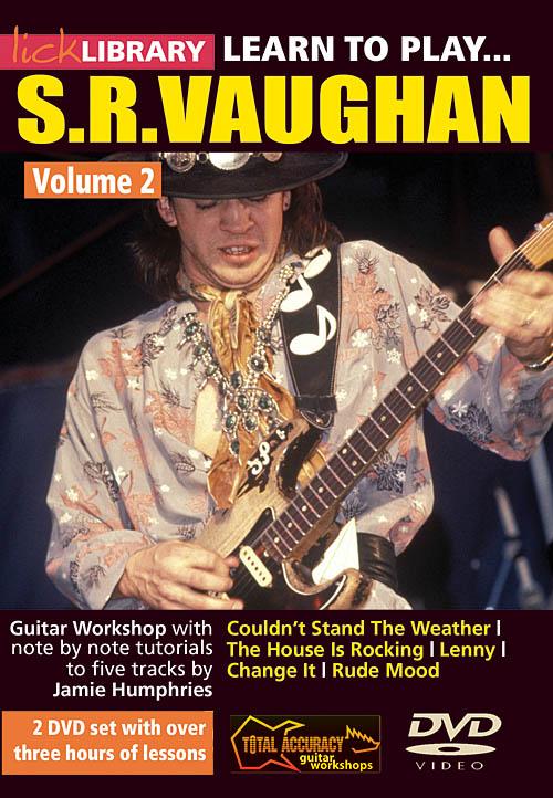 Jamie Humphries Stevie Ray Vaughan: Learn to Play Stevie Ray Vaughan Guitar