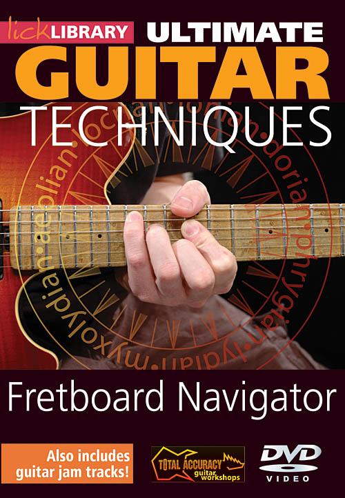Jamie Humphries: Fretboard Navigator - Volume 1: Guitar Solo: DVD