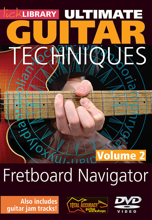Jamie Humphries: Fretboard Navigator - Volume 2: Guitar Solo: DVD