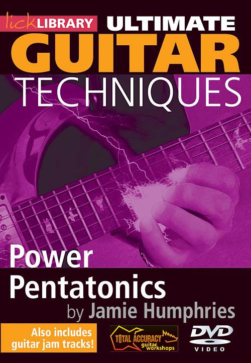 Jamie Humphries: Power Pentatonics: Guitar Solo: DVD
