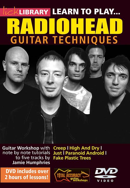 Jamie Humphries  Radiohead: Learn to Play Radiohead: Guitar Solo: DVD