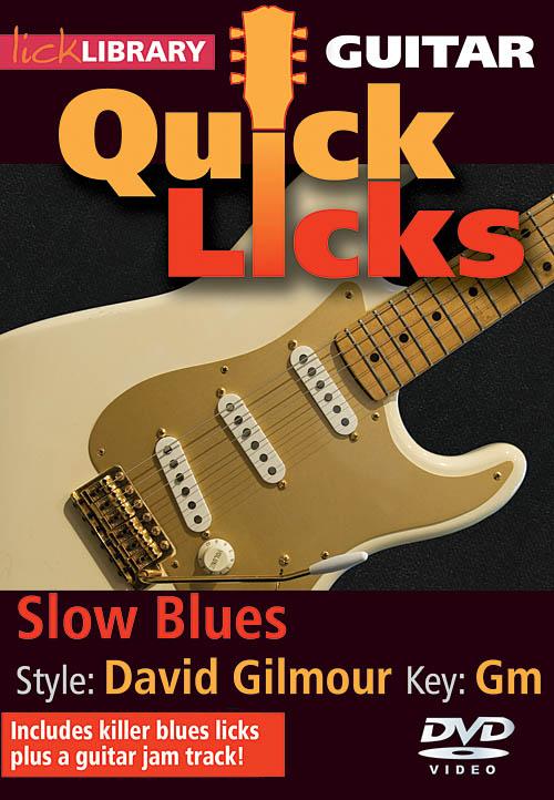 David Gilmour: Slow Blues - Quick Licks: Guitar Solo: DVD