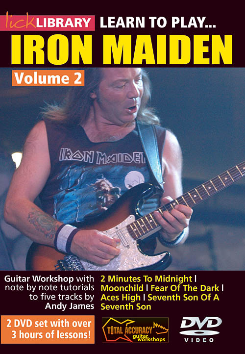 Danny Gill Iron Maiden: Learn to Play Iron Maiden: Guitar Solo: DVD