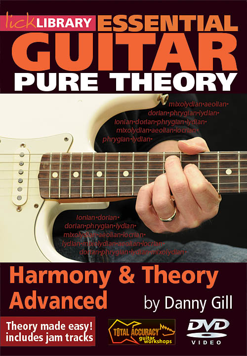 Danny Gill: Harmony & Theory: Guitar Solo: DVD